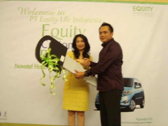 Pengundian Customer Reward periode 2010/2011 27 Juli 2011 di Hotel Novotel Surabaya