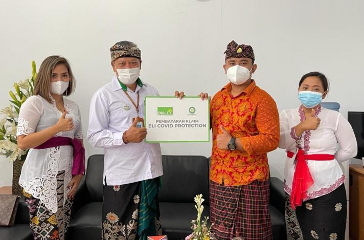 Equity Life Indonesia dan Bank BPD Bali Kembali Bayarkan Manfaat Perlindungan COVID-19 Kepada Nasabah