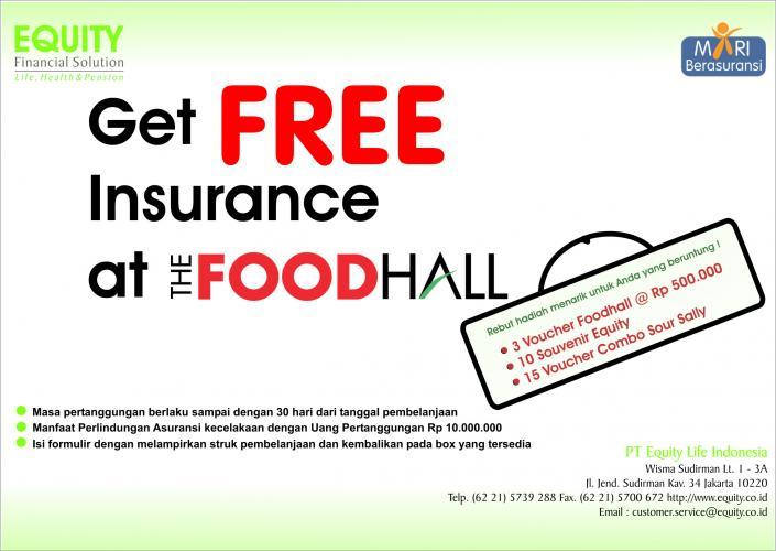 Nama Pemenang program Undian Foodhall Equity Life Indonesia