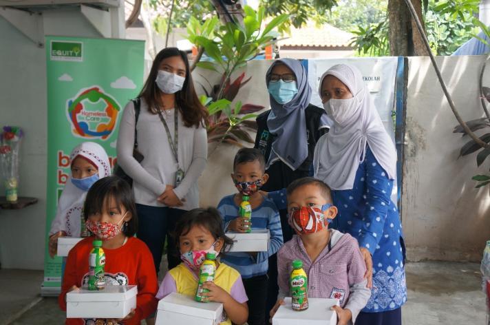 Berkolaborasi Bersama Foodbank of Indonesia, Equity Life Indonesia Berbagi Kebaikan Melalui Happy To Share