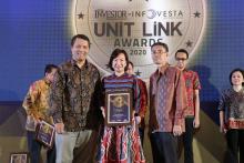 Equity Life Indonesia Raih 3 Penghargaan Pada Investor Infovesta Unit Link Awards 2020