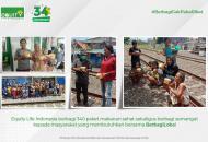 Berkolaborasi Bersama BerbagiLoka, Equity Life Indonesia Bagikan 340 Paket Makanan Sehat Kepada Masyarakat yang Membutuhkan