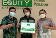 Equity Life Indonesia Bayarkan Klaim Kepada Ahli Waris Nasabah di Cirebon