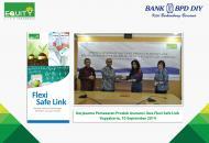 Equity Life Indonesia Menggandeng Bank BPD DIY