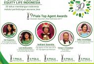 Equity Life Indonesia Raih 9 Penghargaan pada TAA AAJI 2017