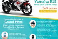 Pemenang Customer Reward Periode 2 dan Grand Prize tahun 2014/2015