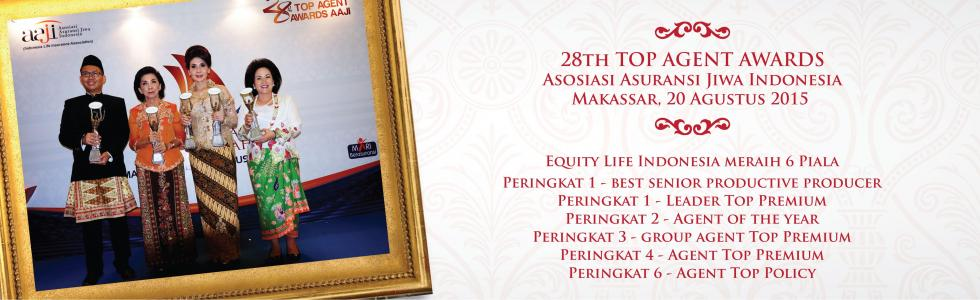 Equity Life Indonesia Borong 6 Piala dalam TAA AAJI 28th