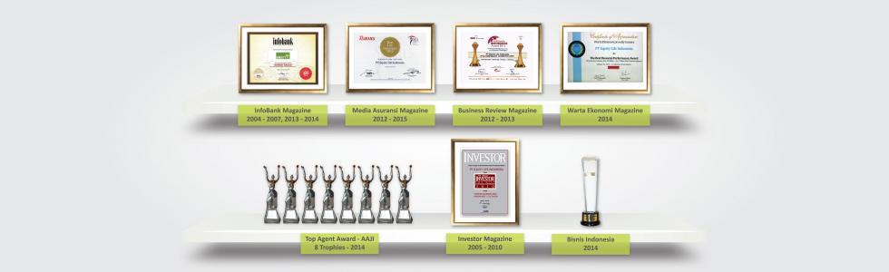 Penghargaan Equity Life Indonesia
